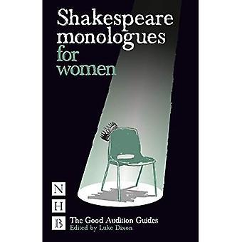 Shakespeares Monologe für Frauen (gute Audition Guide)