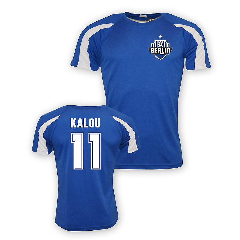 Solomon Kalou Hertha Berlin Sports Training Jersey (blue)