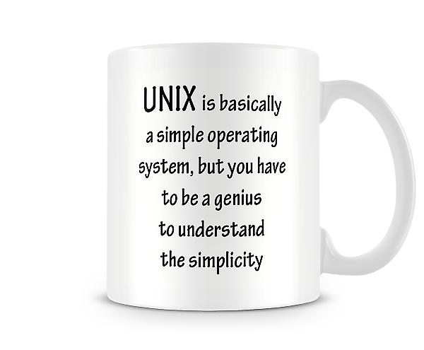 UNIX Simple Operating System Mug