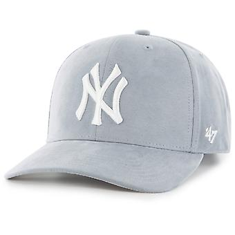 47 fire low profile Cap - ULTRA BASIC New York Yankees grey