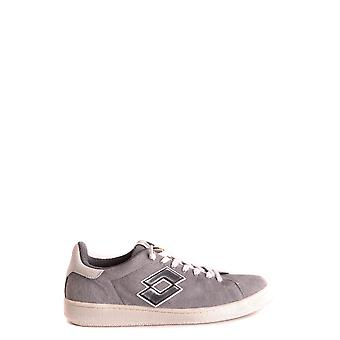 Lotto Grey Leather Sneakers