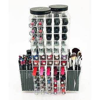 OnDisplay LIP120 roterende akryl kosmetisk/Makeup Organizer