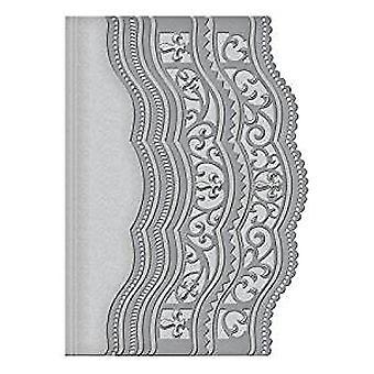 Spellbinders Card Creator Scalloped gränsar två Die (S5-202)