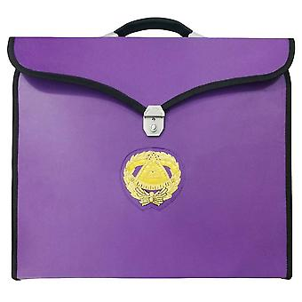 Masonic MM/WM og provinsielle full Dress Grand Master Purple Cases II