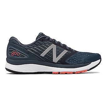 New Balance 860v9 mens 2e breedte (breed) Road Running Shoes met ondersteuning benzine