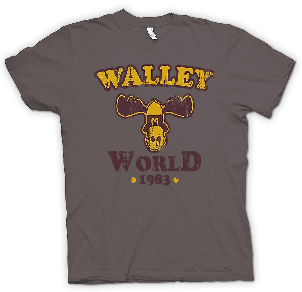 Mens t-shirt - Walley mondo 1983 nazione Lampoons - divertente