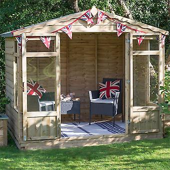 Forest Garden Oakley Overlap Pressure Treated Summerhouse