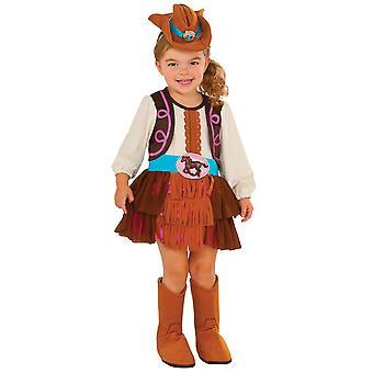 Cowgirl rodeio indiano ocidental selvagem oeste Texas livro semana criança meninas traje T
