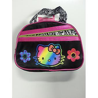 Hand Bag - Hello Kitty - Black Zebra New Purse Bag 691612