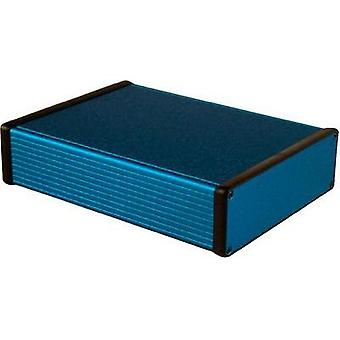 Universal enclosure 220 x 165 x 51.5 Aluminium Blue Hammond Electronics 1455T2201BU 1 pc(s)