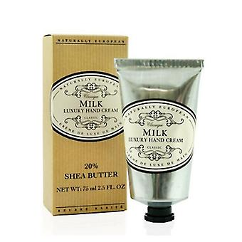 Naturally European luxury hand cream 75 ml milk