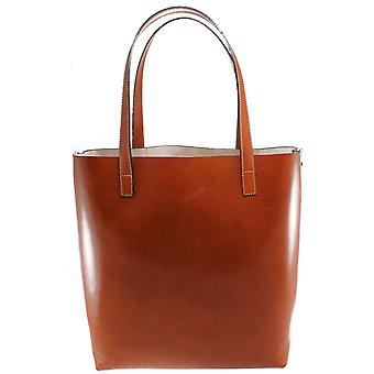 CTM Borsa Shopper grande da Donna in vera pelle made in italy