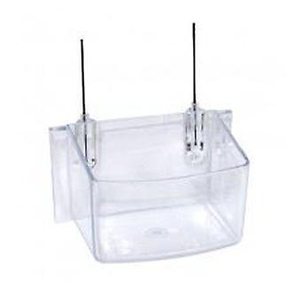 Mgz Alamber Trough Parrot With Hooks (Birds , Feeders & Water Dispensers , For Cages)