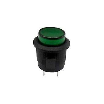 Pushbutton 250 Vac 1.5 A 1 x Off/(On) SCI R13-523AL-05GN momentary 1 pc(s)