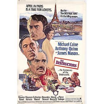 Die Destruktoren Movie Poster drucken (27 x 40)