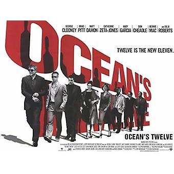 Oceans Twelve Filmplakat (17 x 11)