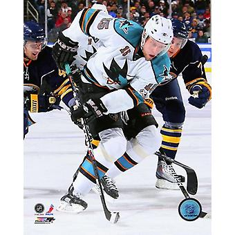 Dany Heatley 2010-11 Action Photo Print
