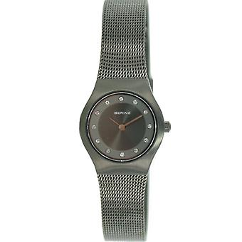 Bering ladies slim watch clock classic - 11923-222 Meshband