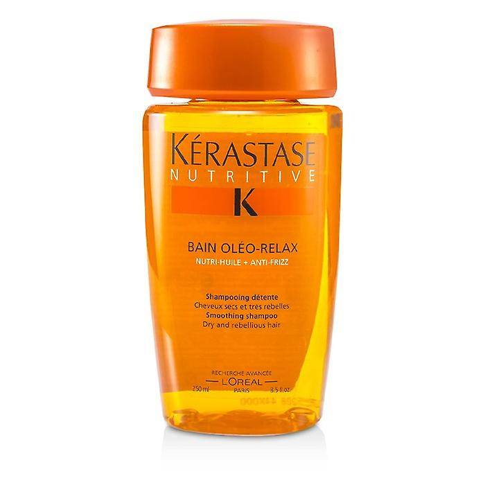 Kerastase Nutritive Bain Oléo-Relax lissage shampooing (Dry & re cheveux) 250ml / 8.5 oz
