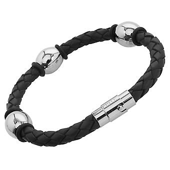 Burgmeister Leather bracelet, JBM4005-755