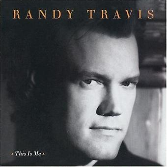 Randy Travis - This Is Me [CD] USA import