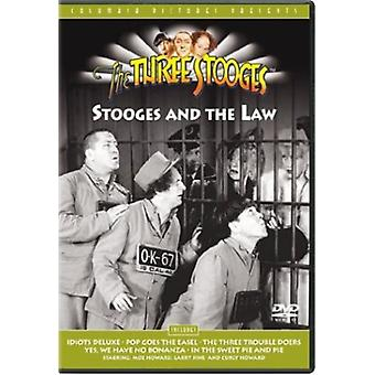 Three Stooges - Stooges & the Law [DVD] USA import
