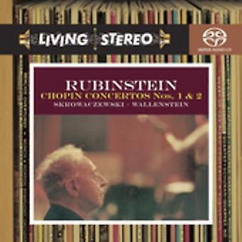 Artur Rubinstein - Chopin : Piano Concertos nos 1 et 2 [CD] USA import