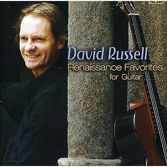 David Russell - Renaissance Favoriten für Gitarre [CD] USA import