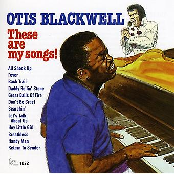 Otis Blackwell - disse er mine sange! [CD] USA import