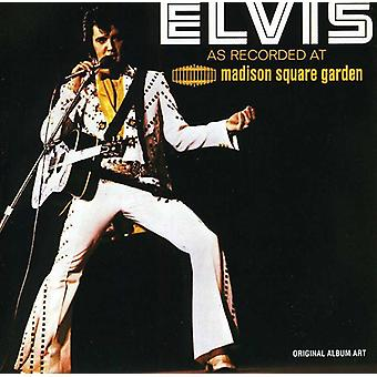 Elvis Presley - Live at Madison Square Garden [CD] USA import