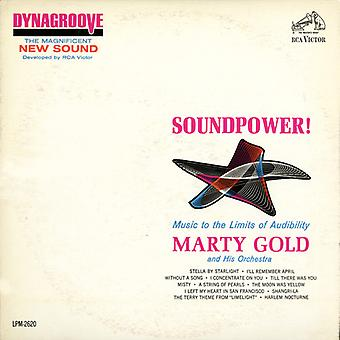 Marty Gold - Soundpower: Music to the Limits of Audibility [CD] USA import