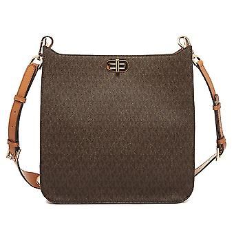 Michael Kors Sullivan Large Logo Messenger Bag - Brown - 30H6GUPM3V-200