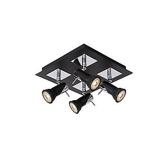 Lucide Brackx Superior 4 Spot Ceiling Light