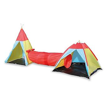 Legler Tent With Tunnel Link (Outdoor , Houses And Stores)