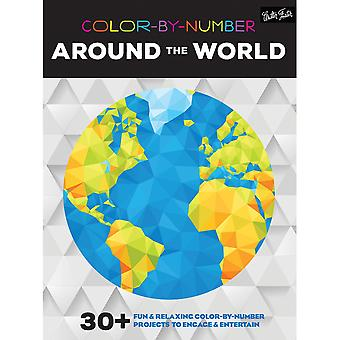 Walter Foster Creative Books-Color By Number - Around The World WFC-22007