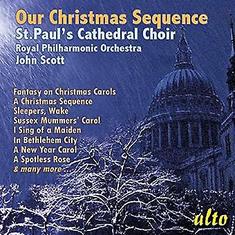 St. Paul's Cathedral Choir, Rpo, John Sc - Our Christmas Sequence: 18 Arrangements [CD] USA import
