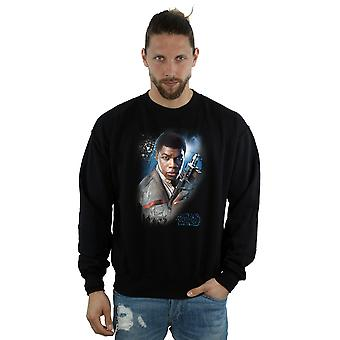 Star Wars Men's The Last Jedi Finn Brushed Sweatshirt