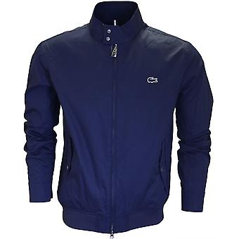 Lacoste Bh6255 Marine Blue Harrington Jacket