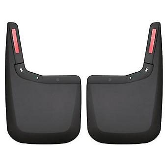 Husky Liners Mud Guards - Custom Molded 59441 Black Rear Fits:FORD 2015 - 2015