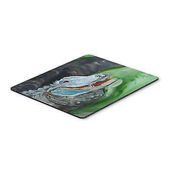 Carolines Treasures  JMK1003MP Blue Alligator Mouse Pad, Hot Pad or Trivet