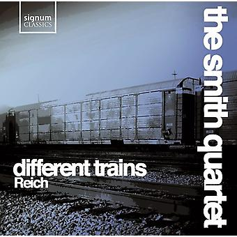 S. Reich - Steve Reich: Different Trains [CD] USA import