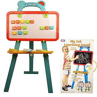 My First Learning Easel Kids Activity Learn And Play Magnetic Board And Letters