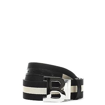 Bally men's BUCKLE45MT6208485NERO black leather belt
