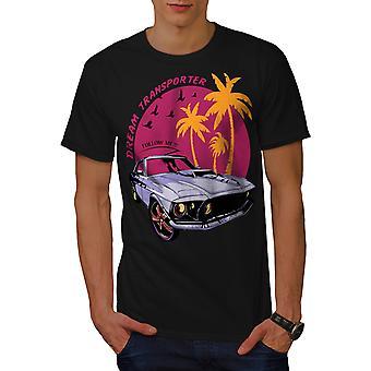 Mustang Car Men BlackT-shirt | Wellcoda