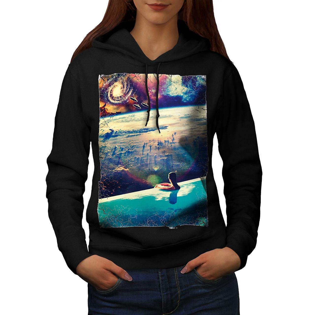 Mars Invasion Relax femmes noirHoodie