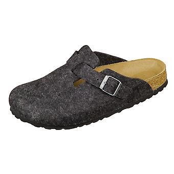 Birkenstock Boston Anthracite Felt 160373 universal  women shoes