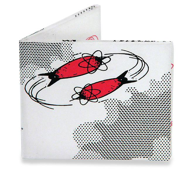 DEVO Golf Mighty Wallet Tyvek, Strong Stealth Bi-Fold Wallet!