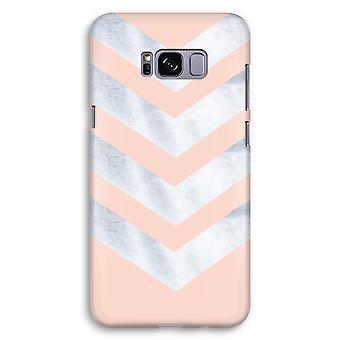 Samsung Galaxy S8 Plus Full Print Case (Glossy) - Marble arrows