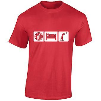 Eten slapen Darts Mens T-Shirt 10 kleuren (S-3XL) door swagwear