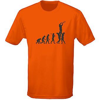 Rugby evolutie Mens T-Shirt 10 kleuren (S-3XL) door swagwear